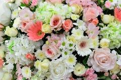 Красивые цветки предпосылка и текстура для wedding сцены Стоковые Фотографии RF