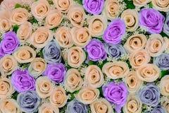 Красивые цветки предпосылка и текстура для wedding сцены Стоковые Изображения RF