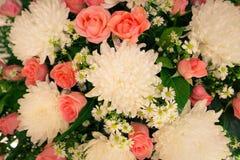 Красивые цветки для валентинок и сцены свадьбы Стоковая Фотография RF