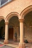 Красивые штендеры залы дворца Бангалора стоковое фото rf