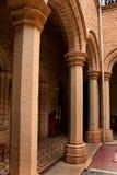 Красивые штендеры залы и своды дворца Бангалора стоковые фото