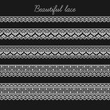 Красивые этапы шнурка для scrapbooking, украшения etc карточки Стоковое Изображение