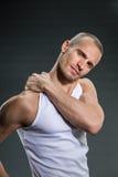 Красивые люди фитнеса Стоковая Фотография