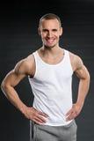 Красивые люди фитнеса Стоковая Фотография RF