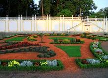 Красивые яркие кровати различных геометрических форм в Kadrior Стоковая Фотография