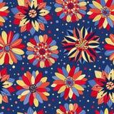 Красивые яркие цветки голубые Стоковые Фотографии RF
