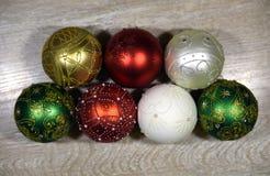 Красивые bals рождества Стоковые Фотографии RF