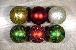 Красивые bals рождества Стоковые Фото
