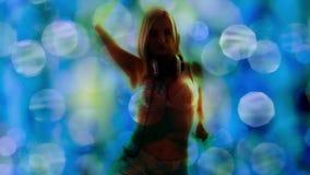 Красивые gogo танцы сток-видео