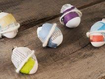 Красивые selfmade пасхальные яйца стоковая фотография rf