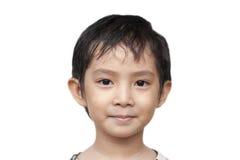 Красивый азиатский мальчик. Стоковое Изображение RF