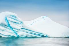 Красивый айсберг в Гренландии Стоковые Изображения RF