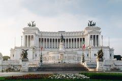 Красивый алтар отечества (della Patria Altare, известного как стоковая фотография