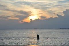 Красивый ландшафт лагуны Стоковые Изображения RF