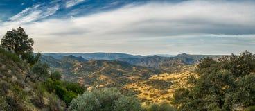 Красивый ландшафт Андалусии испанского языка Стоковое Изображение