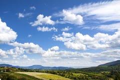 Красивый ландшафт, Венгрия Стоковое Изображение
