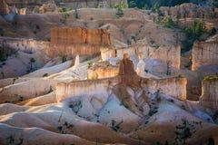 Красивый ландшафт в каньоне Bryce Стоковая Фотография RF