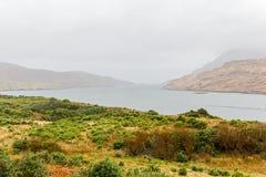 Красивый ландшафт в Connemara Ирландии Стоковое Изображение RF