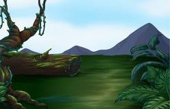 Красивый ландшафт и гора Стоковое Изображение RF