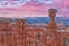 Красивый ландшафт каньона Bryce, Юты, США Стоковое Фото