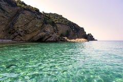 Красивый ландшафт моря в Греции Стоковые Фотографии RF