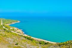 Красивый ландшафт моря Стоковые Изображения
