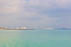Красивый ландшафт моря Стоковое Изображение RF