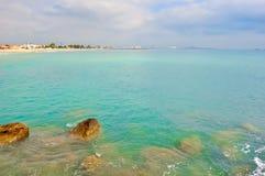 Красивый ландшафт моря Стоковое Изображение