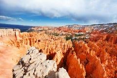 Красивый ландшафт национального парка каньона Bryce Стоковое Изображение RF