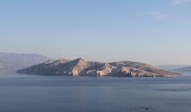 Красивый ландшафт необитаемого острова Стоковое фото RF