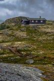 Красивый ландшафт Норвегии на лете Стоковые Изображения
