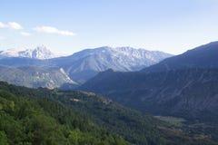 Красивый ландшафт долины Benasque Стоковое фото RF