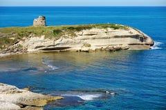 Красивый ландшафт побережья Сардинии Стоковые Фото