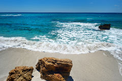 Красивый ландшафт побережья Сардинии Стоковые Фотографии RF