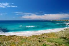 Красивый ландшафт побережья Сардинии Стоковая Фотография RF