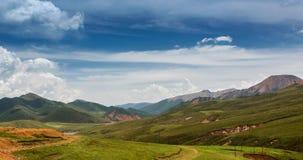 Красивый ландшафт прерии Стоковое Фото