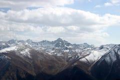 Красивый ландшафт природы на Gulmarg, Кашмире, Индии Стоковые Изображения RF