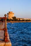 Красивый ландшафт Thessaloniki Стоковое Изображение RF