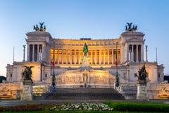 Красивый алтар отечества (della Patria Altare, известного как стоковое фото rf