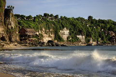 Красивый балийский пляж Dreamland Стоковые Изображения RF