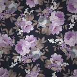 Красивый безшовный винтажный цветочный узор Стоковые Изображения RF