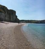 Красивый берег моря Стоковое Изображение RF