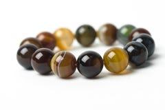 Красивый браслет сделанный от естественных камней Стоковое фото RF