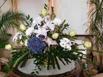 Красивый букет для украшения дома или свадьбы стоковое фото