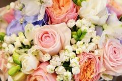 Красивый букет конца-вверх цветков Стоковое Изображение
