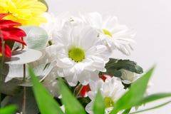 Красивый букет пестротканых цветков Стоковая Фотография