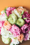 Красивый букет свадьбы для невесты Стоковые Фотографии RF