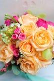 Красивый букет цветка свадьбы для невесты Стоковое Изображение RF