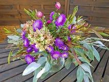Красивый букет цветков лета стоковое изображение rf