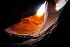 Красивый верхний каньон антилопы стоковые фото